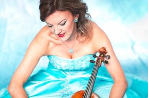 Portrait of Violinist, Tasmin Little