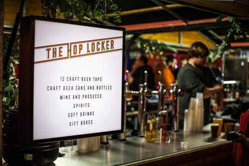 The Hop Locker Bar at Southbank Centre
