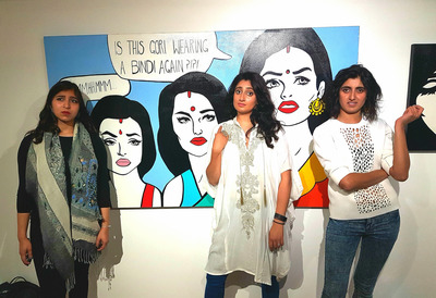 Image of Three Women from Desi Girl Creatives