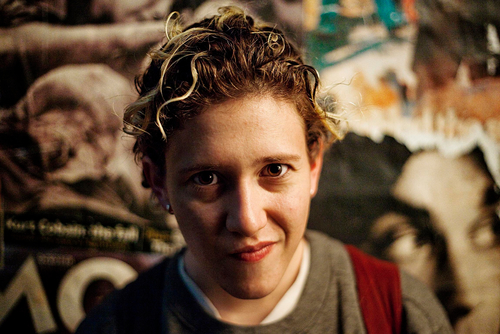 Portrait of composer and musician Mica Levi