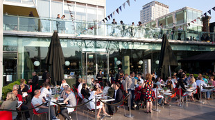 Exterior view of Strada at the Southbank Centre
