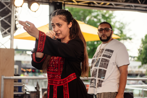 Refugee Week Performers at M.I.A.'s Meltdown Festival