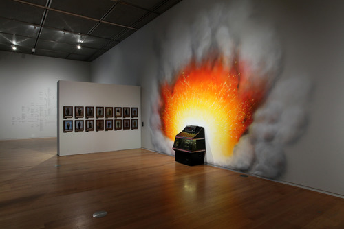 Installation View of Jeremy Deller Curated Exhibition - All That Is Solid Melts Into Air