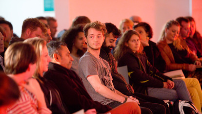 Young Man in Audience