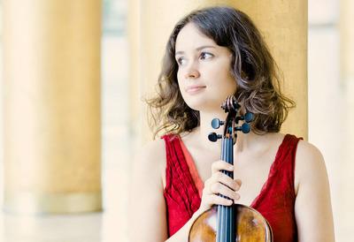 Violinist, Patricia Kopatchinskaja