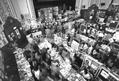 Taken at the First International Book Fair of Radical Black and Third World Books in Islington Town Hall (1-3 April 1982)