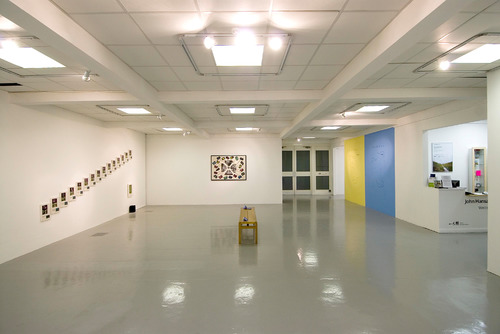 Installation View of Ground Level, Hayward Touring Exhibition