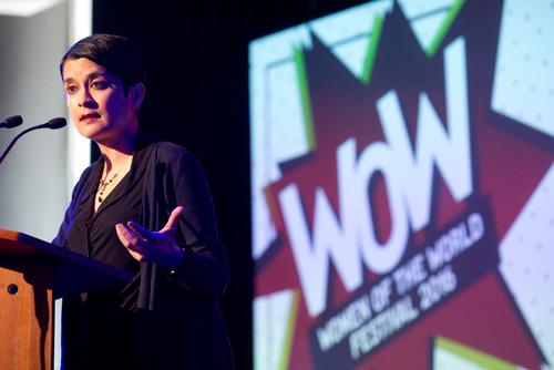 Shami Chakrabarti Speaking at Women of the World Festival