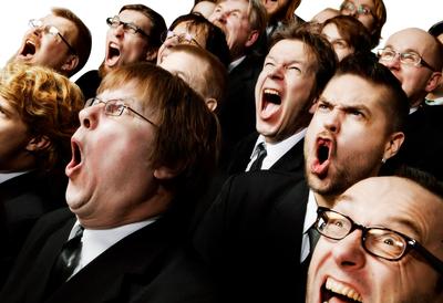 Finnish choir Huutajat