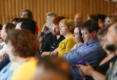 Audience at Changing Britain Talk