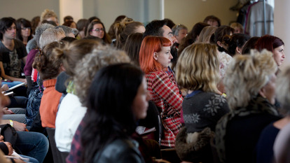 Red Haired Girl in Audience
