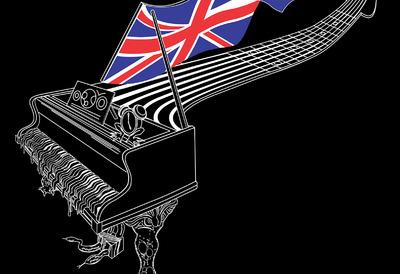 Illustration of a  Pianoguitar