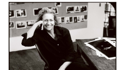 Portrait of photographer,  Annie Leibovitz
