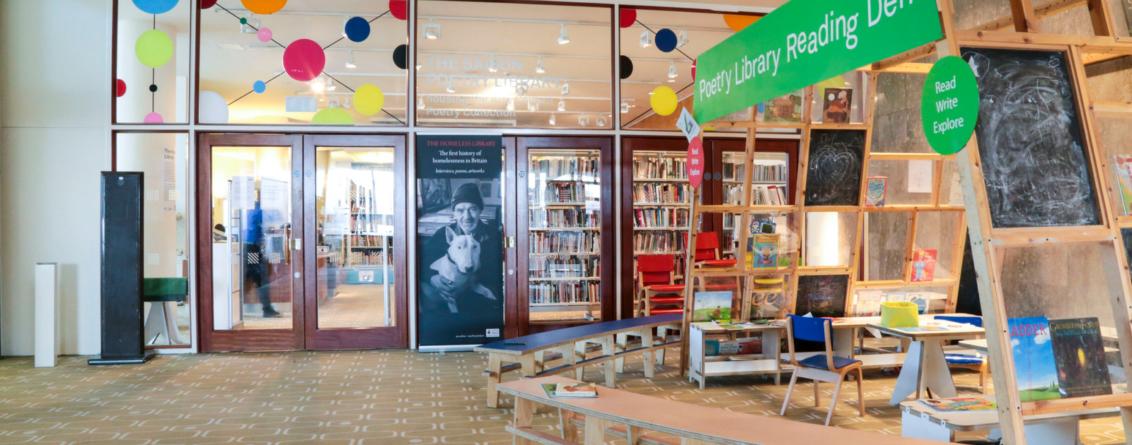 The Poetry Library, Southbank Centre London's Most Beautiful Libraries