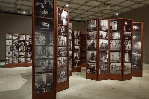 Black adn White Photographs by Dayanita Singh at Hayward Gallery
