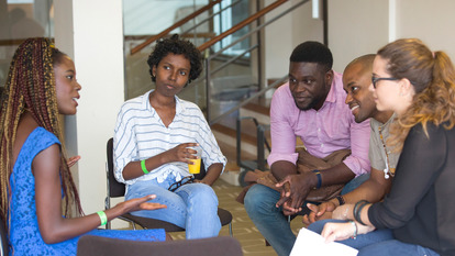 Africa Utopia Thinkin group discussion