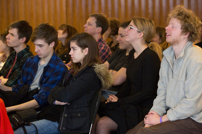 Young Audience at Talk