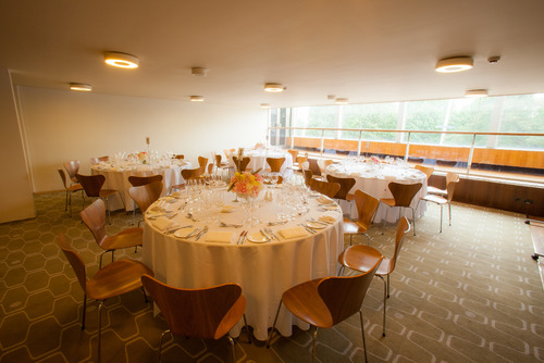 View of the level 3 function room at the Southbank Centre