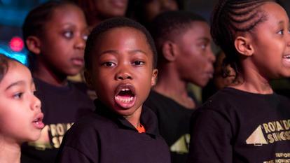 Children Singing in Chorus