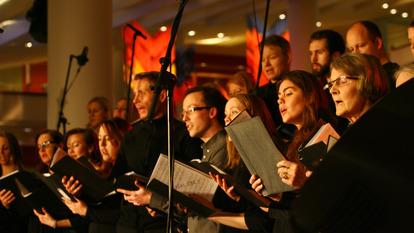 Nordic choirs perform