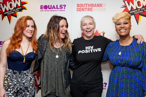 Annie Lennox host Equals Live joined by Katy B, Jess Mills and Emeli Sande at WOW 2012