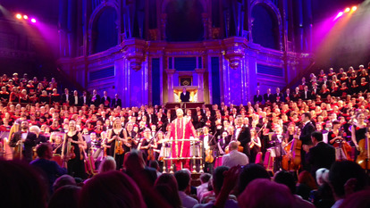 Choir and Audience at John Lewis Christmas Concert