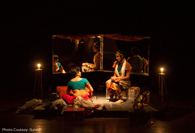 Indian Performers on Stage