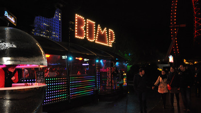 Bump Rollerdisco at Night