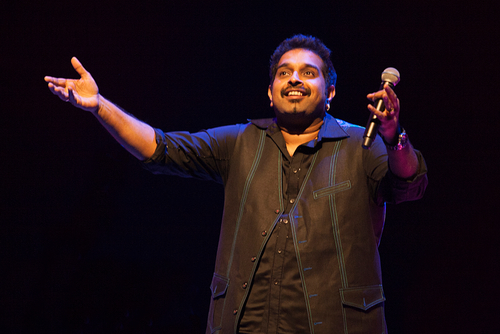 Shankar Mahadevan on stage