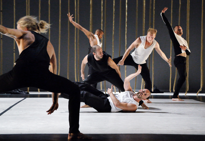 contemporary dancers, Morphed
