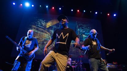 Asian Dub Foundation performing at Alchemy Festival