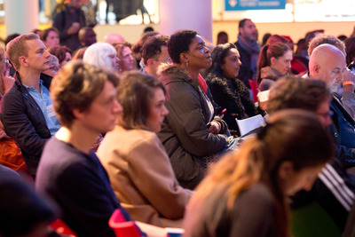 Audience at Talk