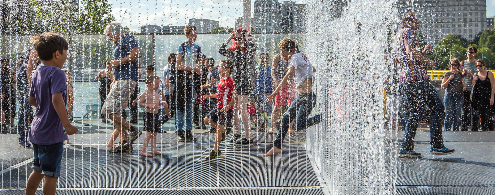 Jeppe Hein's Appearing Rooms at Southbank Centre