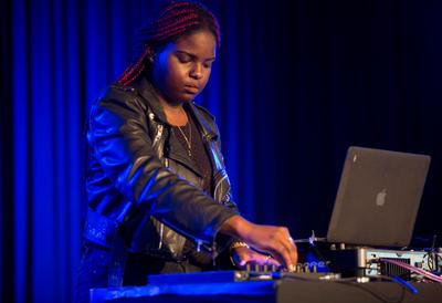 Photo of a DJ at Southbank Centre