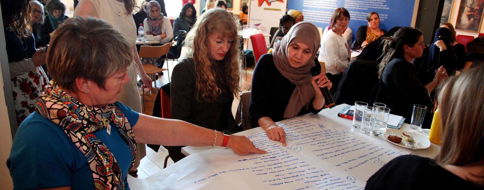 Women at Workshop
