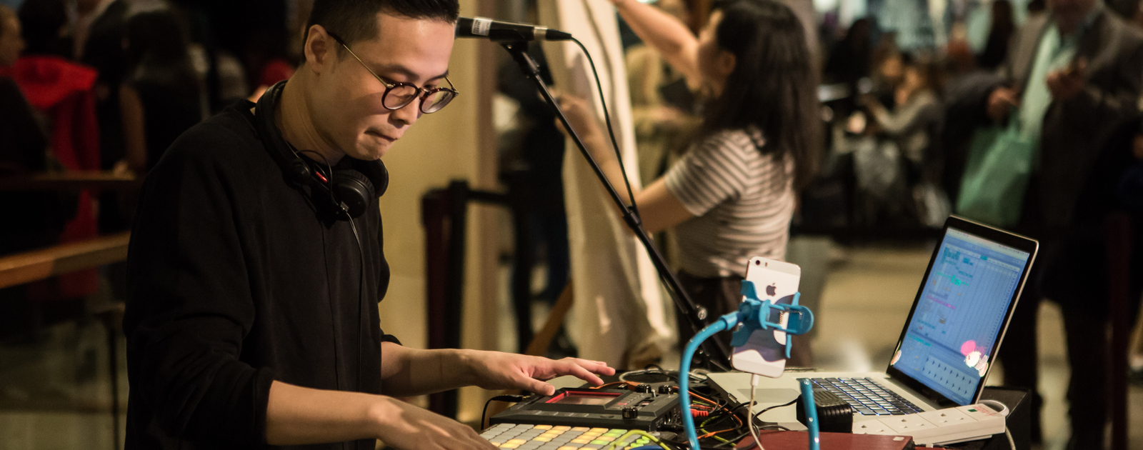Andy Leung: artist, songwriter, DJ, and producer