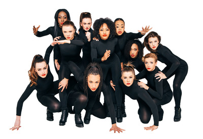 Female Hip-Hop dancers