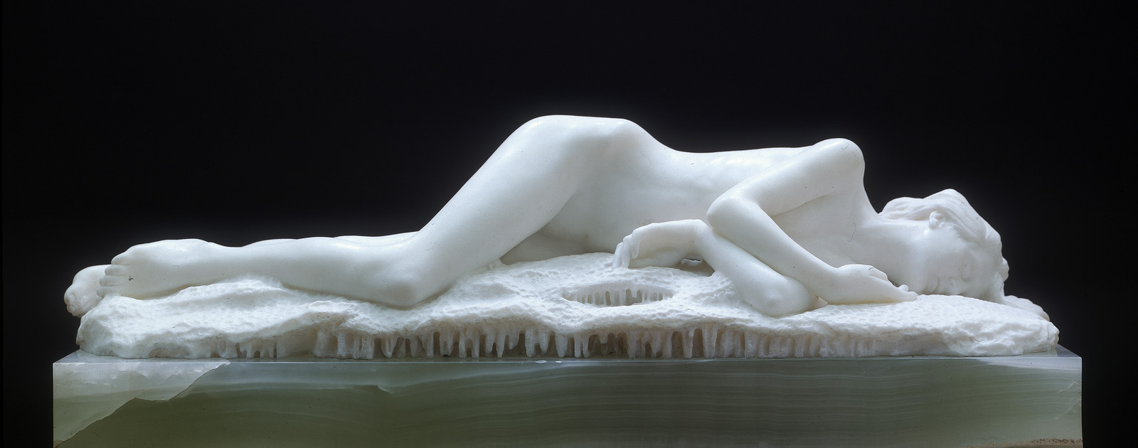Edward Onslow Ford's Sculpture Snowdrift, 1901