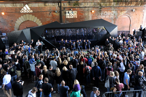 An Adidas brand activation event at the Southbank Centre