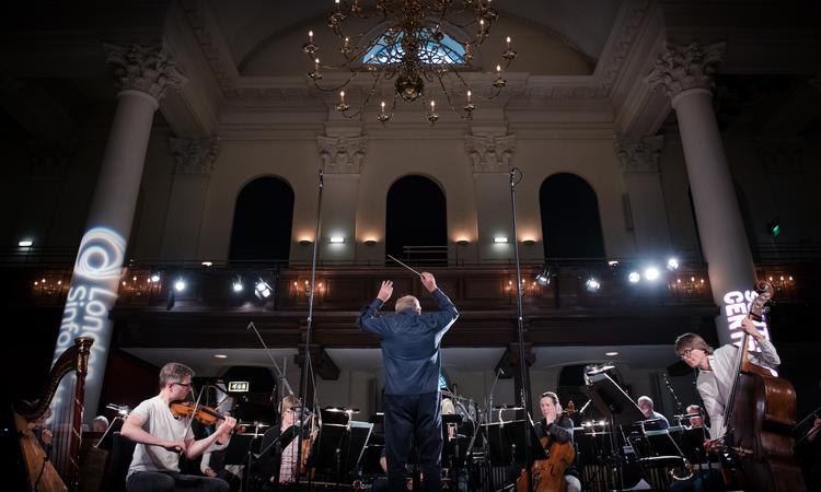 London Sinfonietta Performing