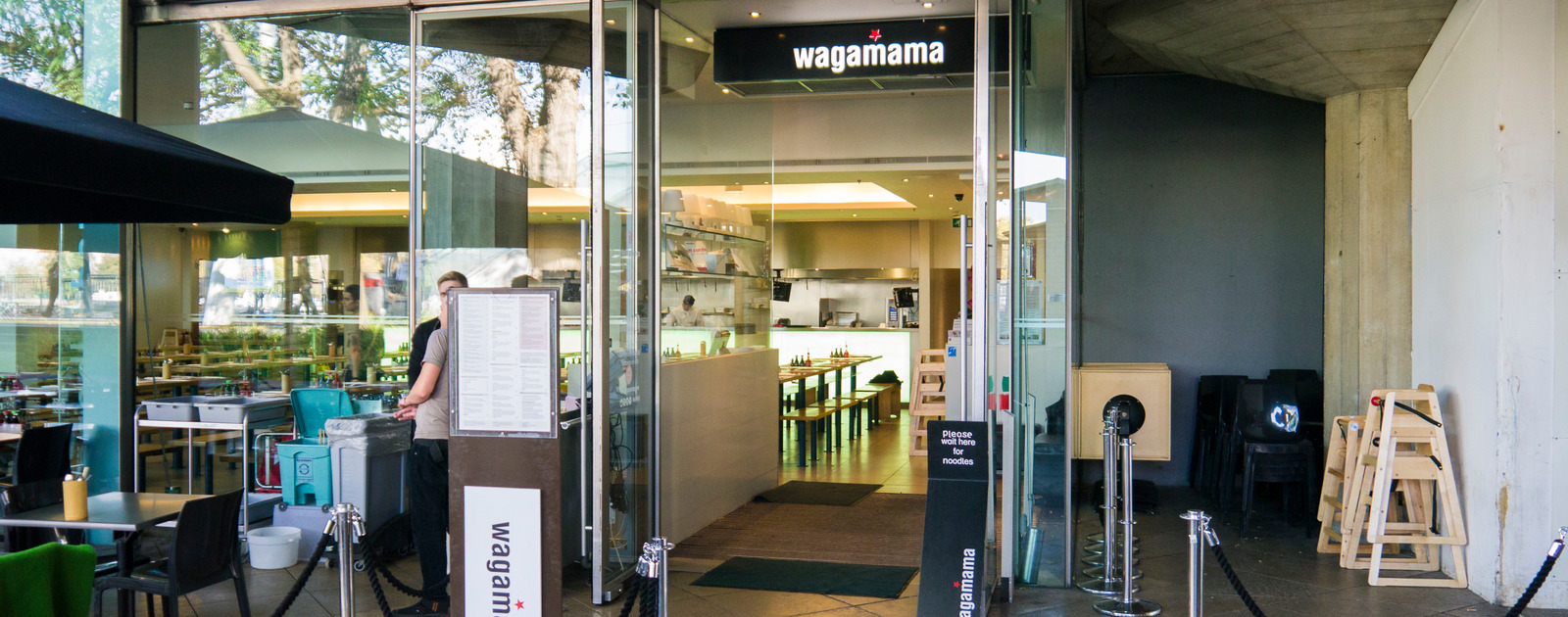 Exterior view of Wagamama, Southbank Centre