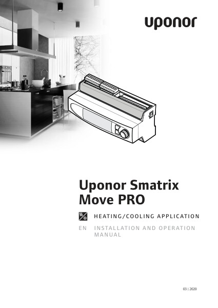 Uponor Smatrix Move PRO HC