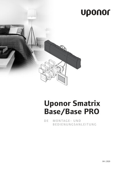 Uponor Smatrix Base and Base PRO manual