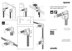 IM Smart Aqua PLUS wall bend support WBa 25-20 INT 1092207