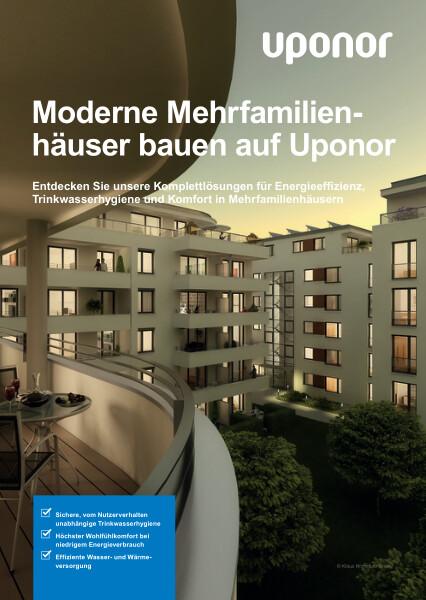 Uponor Lösungen für Mehrfamilienhäuser