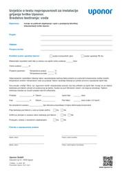 IR MLC leak test report HC water HR 1120608