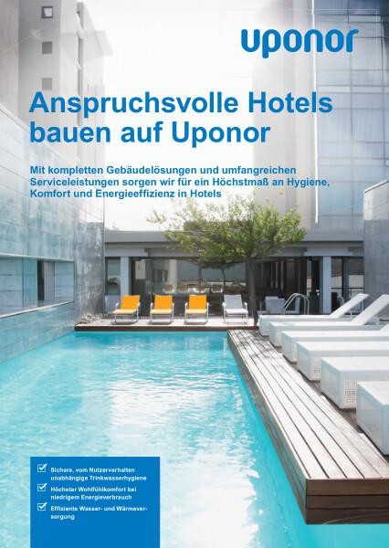 Uponor Lösungen für Hotels