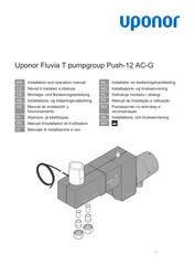 IOM Fluvia T pumpgroup Push-12 AC-G 1095412