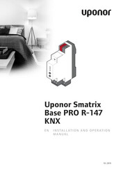 IOM Smatrix Base PRO R-147 KNX EN 1088247 102019