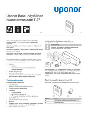 PI Base thermostat display T-27 230V FI 1121263 v2